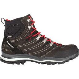 (索取)AKU人Altera GTX徒步旅行長筒靴AKU Mens Alterra GTX Hiking Boot Anthracite/Red