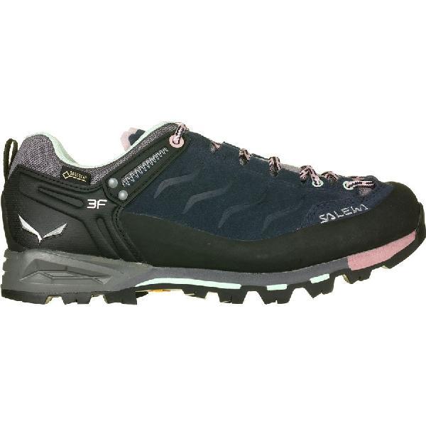 (取寄)サレワ レディース マウンテン トレーナー GTX ハイキング シューズ ハイキングシューズ Salewa Women Mountain Trainer GTX Hiking Shoe Premium Navy/Subtle Green