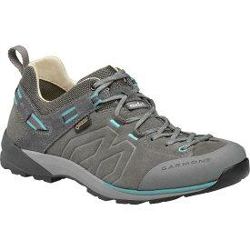 (取寄)ガルモント レディース サンティアゴ ロウ Gtx ハイキングシューズ Garmont Women Santiago Low GTX Hiking Shoe Grey/Turquoise