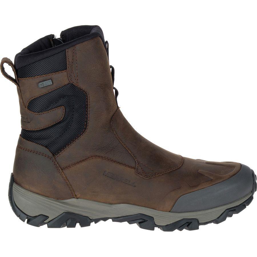 【クーポンで最大2000円OFF】(取寄)メレル メンズ コールドパック アイス+ 8in ジップ ポーラー ブーツ Merrell Men's Coldpack Ice+ 8in Zip Polar Boot Copper Mountain