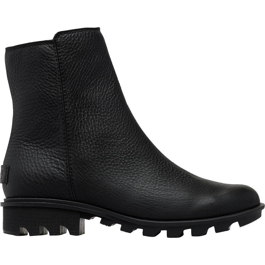 【クーポンで最大2000円OFF】(取寄)ソレル レディース フェニックス ジップ ブーツ Sorel Women Phoenix Zip Boot Black