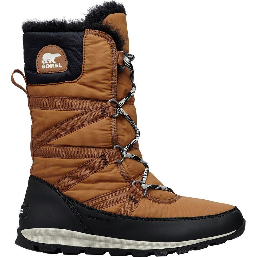 【クーポンで最大2000円OFF】(取寄)ソレル レディース ホイットニー トール レース 2 ブーツ Sorel Women Whitney Tall Lace II Boot Camel Brown