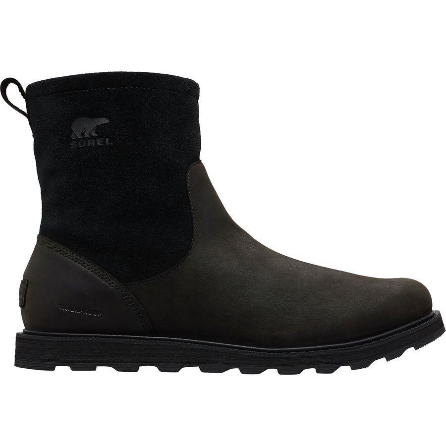 【クーポンで最大2000円OFF】(取寄)ソレル メンズ マドソン ジップ ブーツ Sorel Men's Madson Zip Boot Black