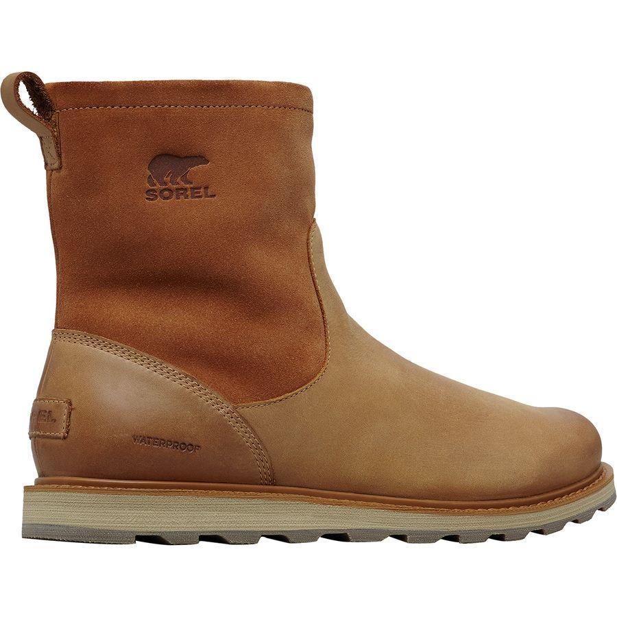 【クーポンで最大2000円OFF】(取寄)ソレル メンズ マドソン ジップ ブーツ Sorel Men's Madson Zip Boot Elk/Ancient Fossil