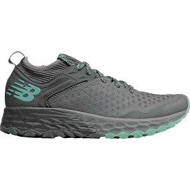 (取寄)ニューバランス レディース フレッシュ フォーム イエロ v4トレイル ランニングシューズ New Balance Women Fresh Foam Hierro v4 Trail Running Shoe Lead/Gunmetal