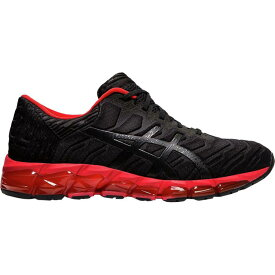 (取寄)アシックス メンズ Gel-Quantum360 5 ランニングシューズ Asics Men's Gel-Quantum 360 5 Running Shoe Black/Speed Red