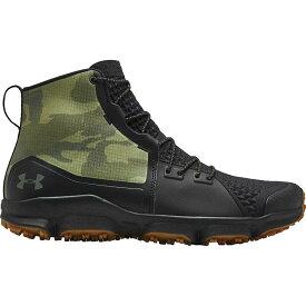 (取寄)アンダーアーマー メンズ スピードフィット 2.0 ハイキング ブーツ Under Armour Men's Speedfit 2.0 Hiking Boot Black/Black/Guardian Green