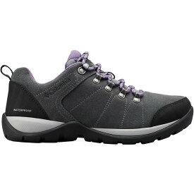 (取寄)コロンビア レディース ファイアー ベンチャー S 2 WP ハイキングシューズ Columbia Women Fire Venture S II WP Hiking Shoe Titanium Mhw/Plum Purple