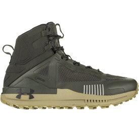 (取寄)アンダーアーマー メンズ ベルジェ 2.0ミッド Gtx ハイキング ブーツ Under Armour Men's Verge 2.0 Mid GTX Hiking Boot Baroque Green/Outpost Green/Black