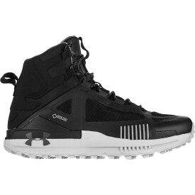 (取寄)アンダーアーマー メンズ ベルジェ 2.0ミッド Gtx ハイキング ブーツ Under Armour Men's Verge 2.0 Mid GTX Hiking Boot Black/Mod Gray/Pitch Gray