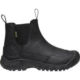 (取寄)キーン レディース ホードー 3 チェルシー ブーツ KEEN Women Hoodoo III Chelsea Boot Black/Black