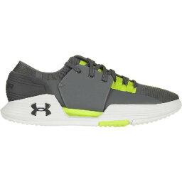 (索取)andaamamenzusupidofomuampu 2.0鞋Under Armour Mens Speedform Amp 2.0 Shoe Graphite/Smash Yellow/Gr..