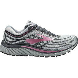 (索取)布魯克斯女士甘油15跑步鞋Brooks Women Glycerin 15 Running Shoe Silver-Grey-Rose
