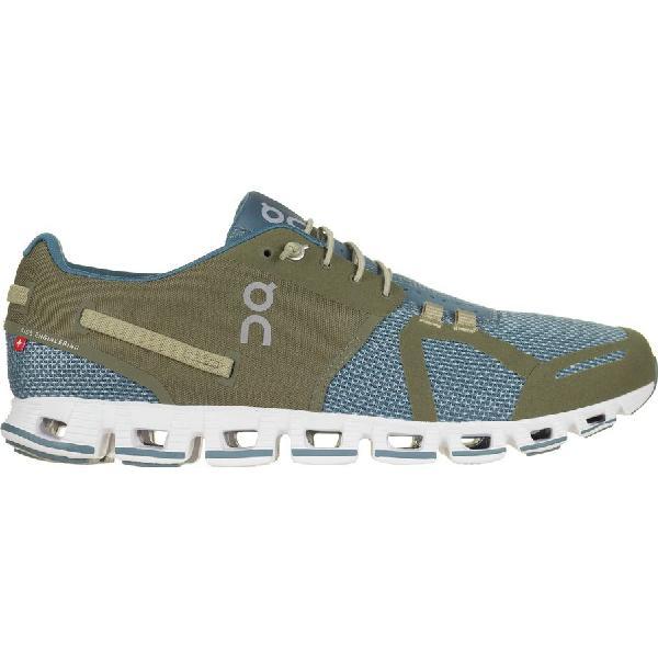 (取寄)オン フットウェアー メンズ クラウド シューズ On Footwear Men's Cloud Shoes Olice/Grey