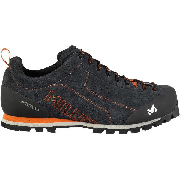 (取寄)ミレー メンズ フリクション アプローチ シューズ Millet Men's Friction Approach Shoe Deep Grey/Anthracite 【コンビニ受取対応商品】