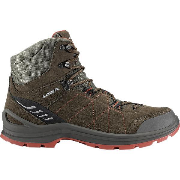 (取寄)ローバー メンズ ティアゴ ミッド ハイキング ブーツ Lowa Men's Tiago Mid Hiking Boot Slate/Rust 【コンビニ受取対応商品】