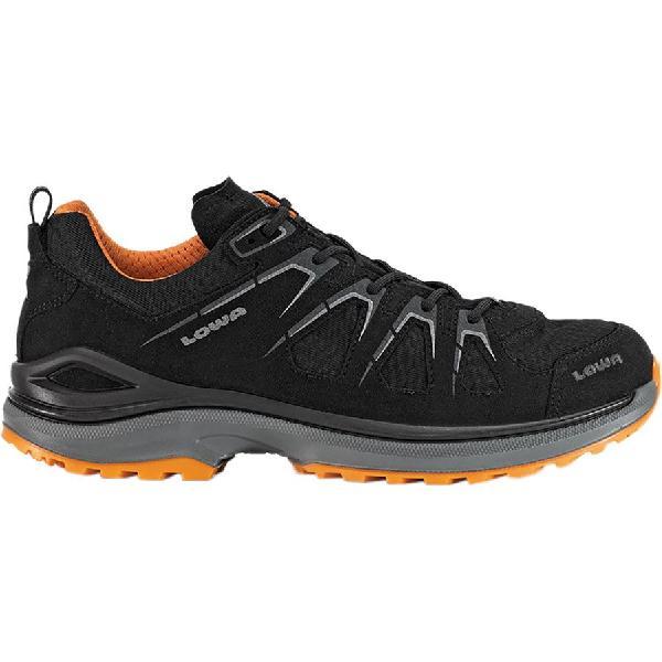 (取寄)ローバー メンズ イノックス エボ GTX ロー ハイキングシューズ Lowa Men's Innox Evo GTX Lo Hiking Shoe Black/Orange 【コンビニ受取対応商品】
