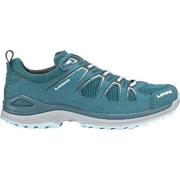 (取寄)ローバー レディース イノックス エボ GTX ロー ハイキングシューズ Lowa Women Innox Evo GTX Lo Hiking Shoe Petrol/Ice Blue 【コンビニ受取対応商品】