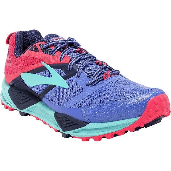 (取寄)ブルックス レディース カスケディア 12トレイル ランニングシューズ Brooks Women Cascadia 12 Trail Running Shoe Baja Blue/Paradise Pink/Clearwater