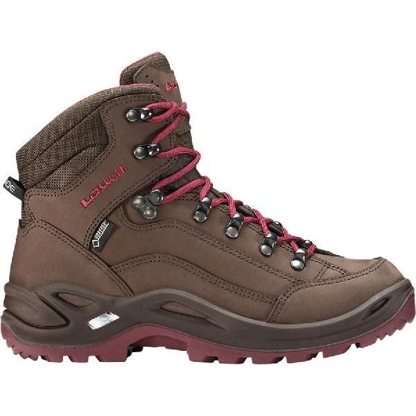 (取寄)ローバー レディース レネゲード GTX ミッド ハイキング ブーツ Lowa Women Renegade GTX Mid Hiking Boot Espresso/Berry