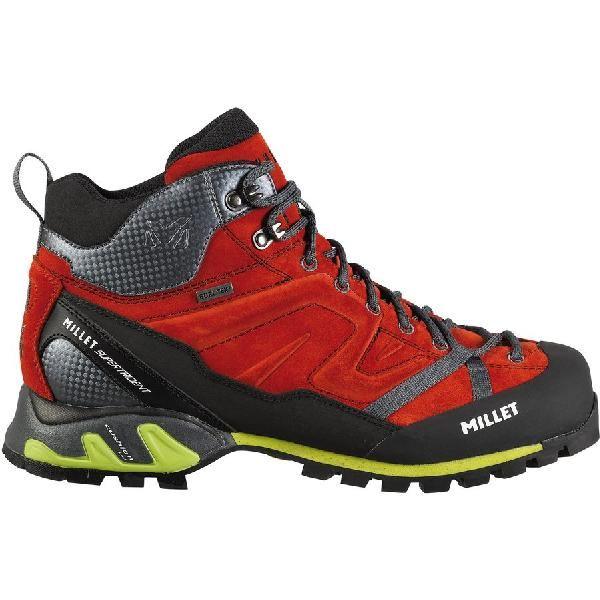(取寄)ミレー メンズ スーパー トライデント GTX シューズ Millet Men's Super Trident GTX Shoe Red/Rouge
