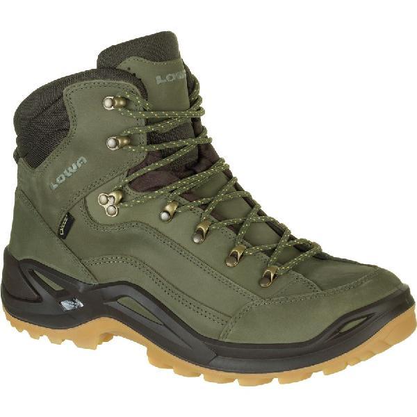 (取寄)ローバー メンズ レネゲード GTX ミッド ハイキング ブーツ Lowa Men's Renegade GTX Mid Hiking Boot Forest/Dark Brown