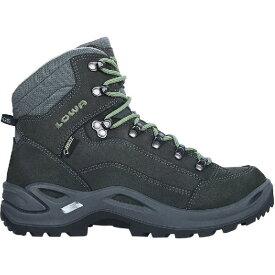 (取寄)ローバー レディース レネゲード GTX ミッド ハイキング ブーツ Lowa Women Renegade GTX Mid Hiking Boot Graphite/Jade