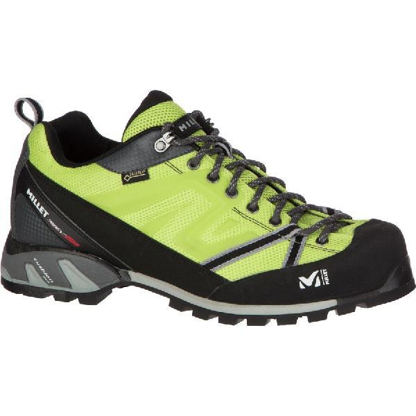 (取寄)ミレー メンズ トライデント GTX アプローチ シューズ Millet Men's Trident GTX Approach Shoe Acid Green