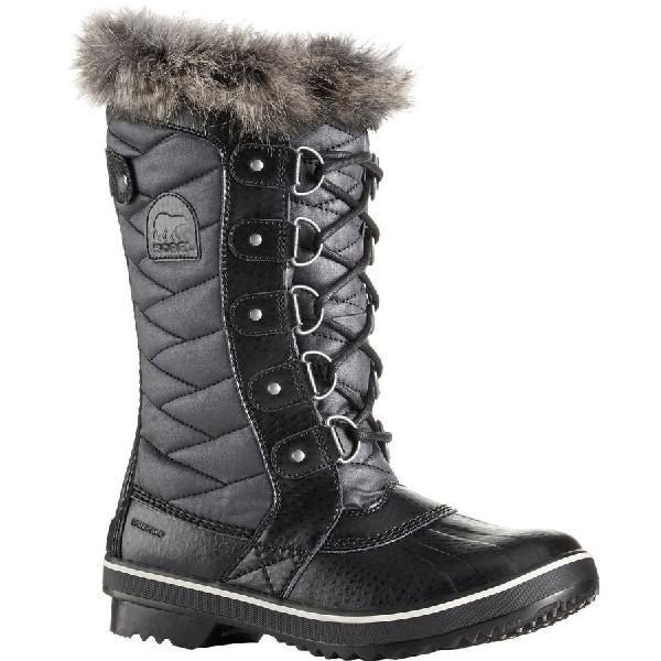 (取寄)ソレル レディース トフィーノ 2 ブーツ Sorel Women Tofino II Boot Black/Stone