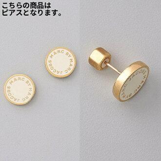 fe960deda JETRAG Rakuten Ichiba Shop: It supports mark by mark Jacobs pierced earrings  enamel logo Marc by Marc Jacobs Logo Disc Stud Earrings /Cream | Rakuten  Global ...