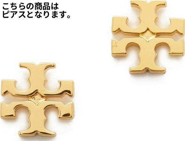 Tory Burch トリーバーチ ピアス ゴールド Logo Stud Earrings ロゴ スタッズ ピアス Shiny Gold シャイニー【アクセサリー ジュエリー】【コンビニ受取対応商品】