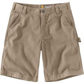 (取寄)カーハート メンズ ラギット フレックス リグビー ワーク 11 インチ ダンガリー ショート Carhartt Men's Rugged Flex Rigby Work 11 Inch Dungaree Short Tan