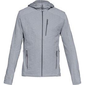 (取寄)アンダーアーマー メンズ UA コールドギア イグザート ジャケット Under Armour Men's UA ColdGear Exert Jacket Mod Gray / / Pitch Gray 送料無料