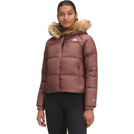 (取寄)ノースフェイス レディース ディリオ ダウン クロップ ジャケット The North Face Women's Dealio Down Crop Jacket Marron Purple 送料無料