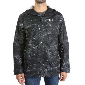 (取寄)アンダーアーマー メンズ UA コールドギア インフレア ヘインズ シェル ジャケット Under Armour Men's UA ColdGear Infrared Haines Shell Jacket Black / Overcast Grey / White 送料無料