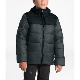 (取寄)ノースフェイス ボーイズ ダブル ダウン トリクライメイト ジャケット The North Face Boys' Double Down Triclimate Jacket Asphalt Grey