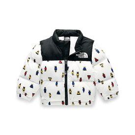 (取寄)ノースフェイス インファント 1996 レトロ ヌプシ ダウン ジャケット The North Face Infant 1996 Retro Nuptse Down Jacket TNF White Berkeley Bear Print