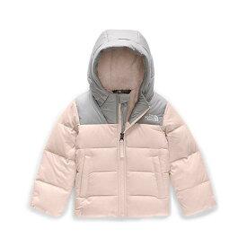 【エントリーでポイント5倍】(取寄)ノースフェイス トッドラー ムーンドギー ダウン ジャケット The North Face Toddlers' Moondoggy Down Jacket Purdy Pink