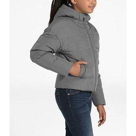 (取寄)ノースフェイス ガールズ 女の子 ムーンドギー ダウン ジャケット The North Face Girls' Moondoggy Down Jacket TNF Medium Grey Heather 送料無料