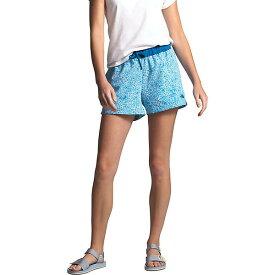 (取寄)ノースフェイス レディース クラス V 4 インチ ショット The North Face Women's Class V 4 Inch Short Clear Lake Blue Floral Block Print