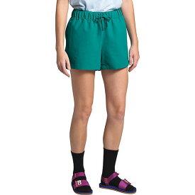 (取寄)ノースフェイス レディース クラス V 4 インチ ショット The North Face Women's Class V 4 Inch Short Jaiden Green