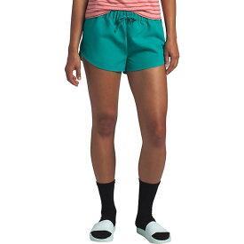(取寄)ノースフェイス レディース クラス V ミニ 2.5 インチ ショット The North Face Women's Class V Mini 2.5 Inch Short Jaiden Green