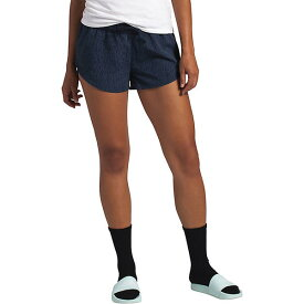(取寄)ノースフェイス レディース クラス V ミニ 2.5 インチ ショット The North Face Women's Class V Mini 2.5 Inch Short Urban Navy Rain Camo Print