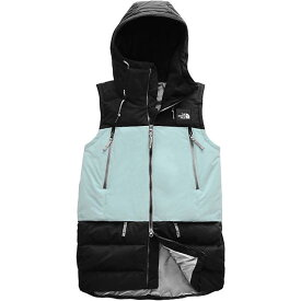 【クーポンで最大2000円OFF】(取寄)ノースフェイス レディース パリー ダウン ベスト The North Face Women's Pallie Down Vest TNF Black / Cloud Blue