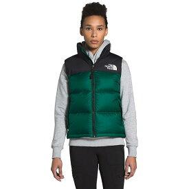 (取寄)ノースフェイス ダウンベスト レディース 1996 レトロ ヌプシ ベスト The North Face Women's 1996 Retro Nuptse Vest Evergreen 送料無料