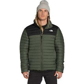 (取寄)ノースフェイス メンズ ストレッチ ダウン ジャケット The North Face Men's Stretch Down Jacket New Taupe Green / TNF Black 送料無料