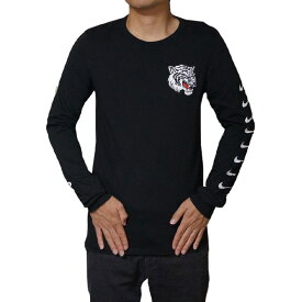 NIKE ナイキ メンズ 長袖Tシャツ ブラック エアマックス プラス チューン ロングスリーブ ロンT NIKE Men's Air Max Plus Tuned Long Sleeve T-shirt Black White