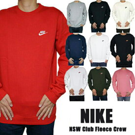 Nike ナイキ トレーナー メンズ 裏起毛 スウェット・トレーナー クラブ フリース クルー Nike Men's NSW Club Fleece Crew