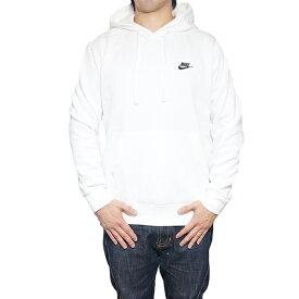 NIKE パーカー ナイキ メンズ 裏起毛 スウェットパーカー クラブ プルオーバー フーディ Nike Men's Club Pullover Hoodie White/Black