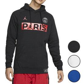 NIKE PSG ジョーダン パーカー メンズ パリサンジェルマン ブラック/レッド/ホワイト/ブルー ジャンプマン フリース フーディ Jordan PSG Jumpman Fleece Hoodie